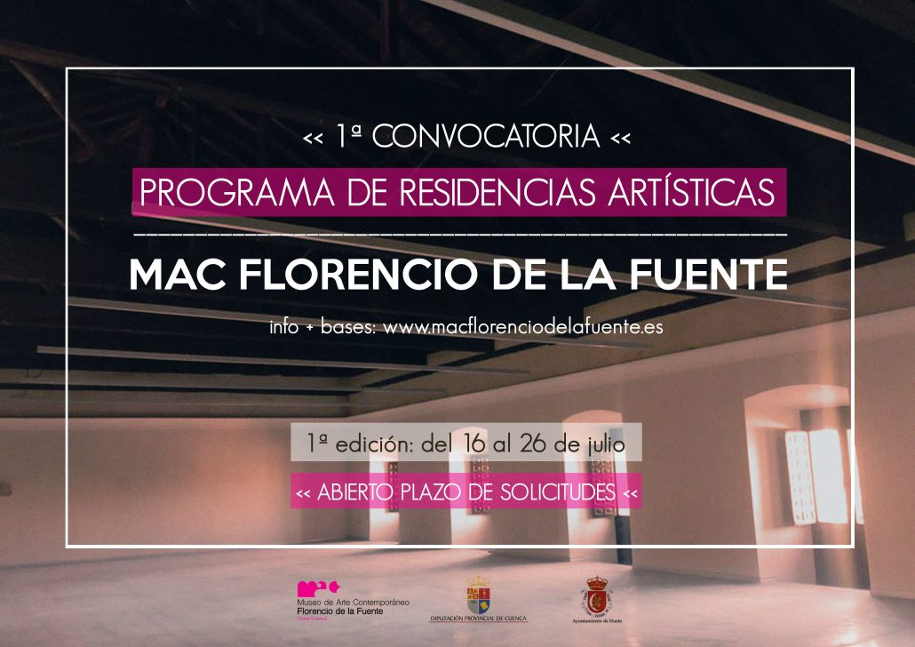 RESIDENCIAS ARTÍSTICAS MAC FLORENCIO DE LA FUENTE