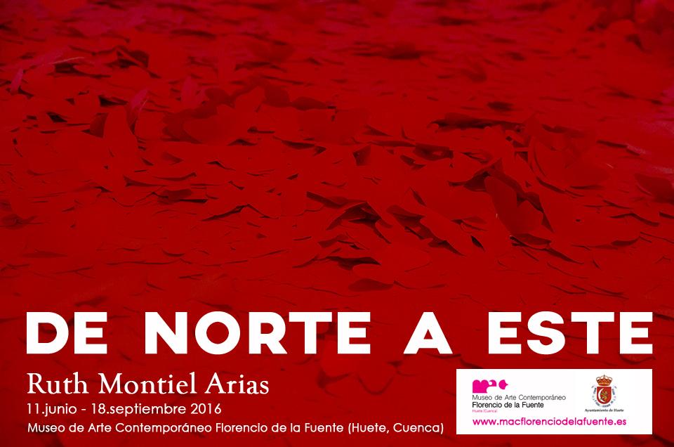 cartel ruth montiel MAC Florencio de la Fuente
